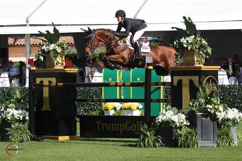 Brianne Goutal und Ballade van het Indihof © Sportfot - www.us.sportfot.com