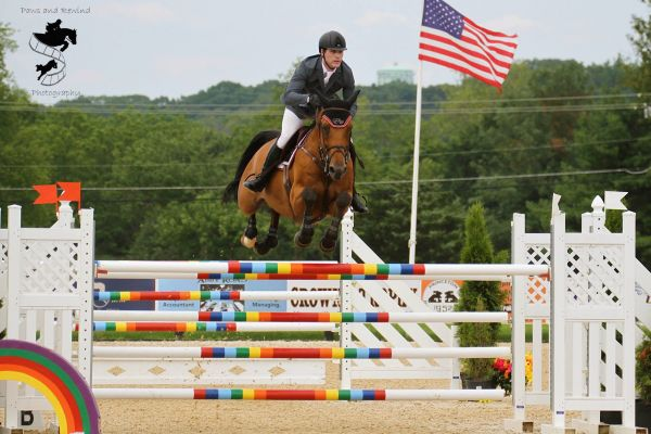Peter Lutz and Robin De Porthual Win $35,000 Grand Prix of Princeton. © Paws and Rewind LLC