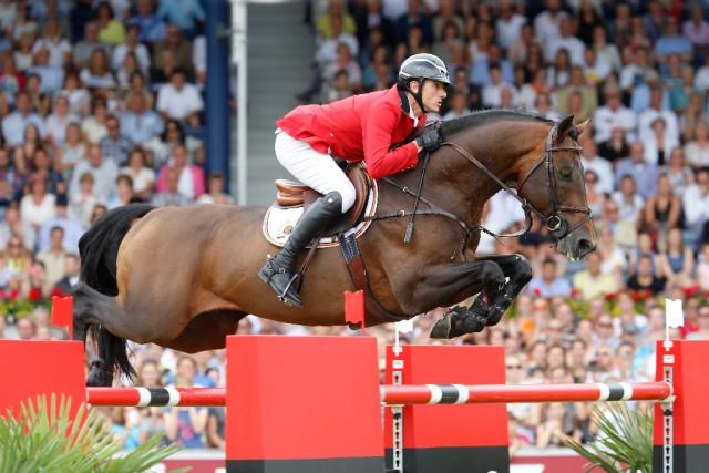Für Gregory Wathelet und Conrad De Hus gab es heute in Aachen die Silbermedaille. © Stefano Grasso