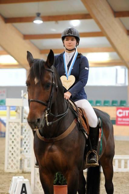 Katharina Biber und ihr Arpeggio's Son fuhren mit zwei Siegen im Gepäck nach Hause. © horsesportsphoto.eu