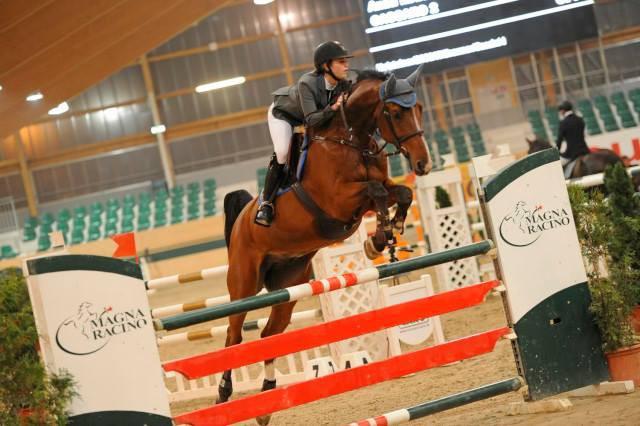Anna Markel ließ mit ihrem vierten Rang im Grand Prix inmitten der Profireiter aufhorchen! © horsesportsphoto.eu