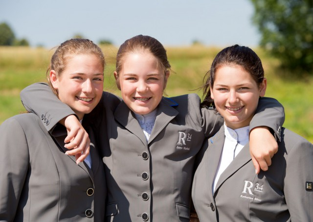 Für die R34-Teamreterinnen Anna Markel, Johanna und Katharina Biber war das Turnier in Lamprechtshausen äußerst erfolgreich. © Michael Rzepa