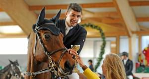 """""""So etwas wünscht man niemandem"""": der sympathische Benjamin Wulschner (GER) verlor vergangene Woche im Parcours seinen vierbeinigen Sportpartner. © horsesportsphoto.eu"""