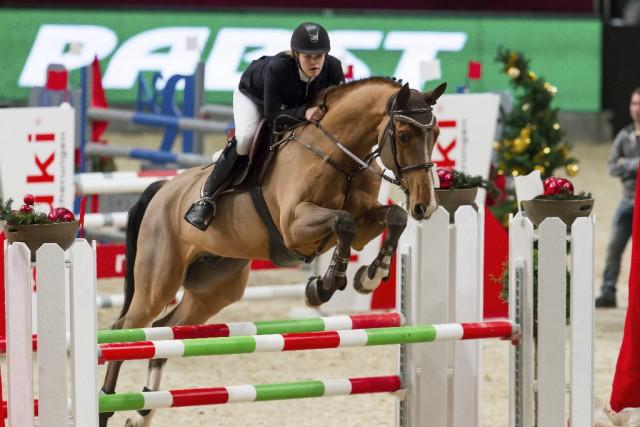 Anna Markel punktete mit Cascaro in der Big Amateur Tour. © Michael Graf