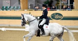 Stephanie Dearing holte sich vier Siege am Aufwärmtag beim Sichtungsturnier im Magna Racino. © horsesportsphoto.eu