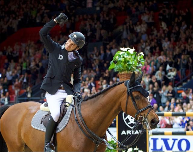 Der alte und neue Weltcupgesamtsieger: Steve Guerdat! © Arnd Bronkhorst
