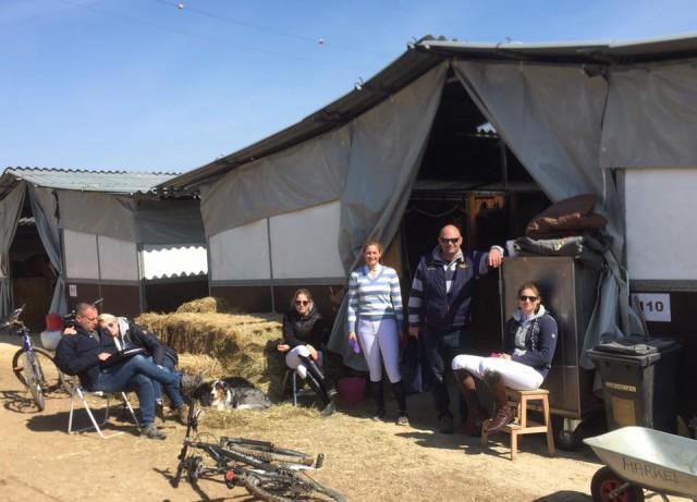 Für zwei Wochen haben die R34- Mädels ihr Lager nun in Arezzo aufgeschlagen, um internationale Erfahrungen gesammelt. © facebook Brigitte Biber