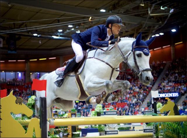 Max Kühner und Chardonnay sind im Finale am Montag dabei! © Arnd Bronkhorst
