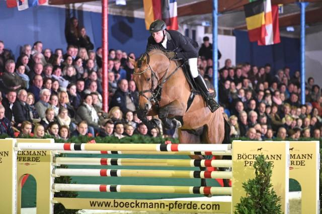 Famous young stallion Lord Pezi junior shines for Boeckmann stallions. © Kiki Beelitz