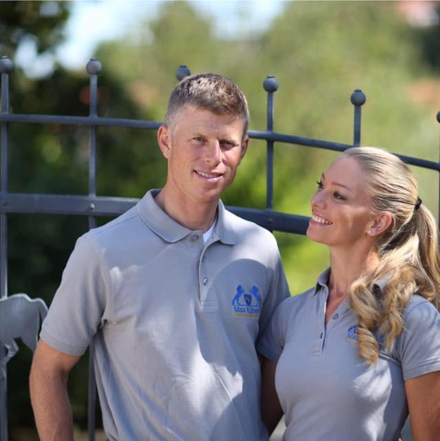 Max Ehefrau Liv wird ihren Mann auch beim Weltcupfinale in Göteborg unterstützen. © Team Kühner