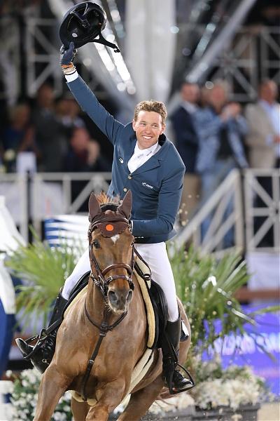 Simon Delestre (FRA) gewann letztes Jahr die LGCT of Antwerp. Wer wird heuer sein Nachfolger? © LGCT/Stefano Grasso