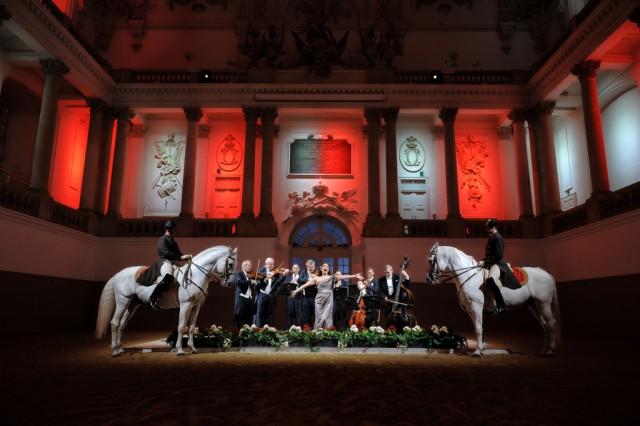 A Tribute To Vienna mit den Wiener Philharmonikern. © Spanische Hofreitschule, Stefan Seelig