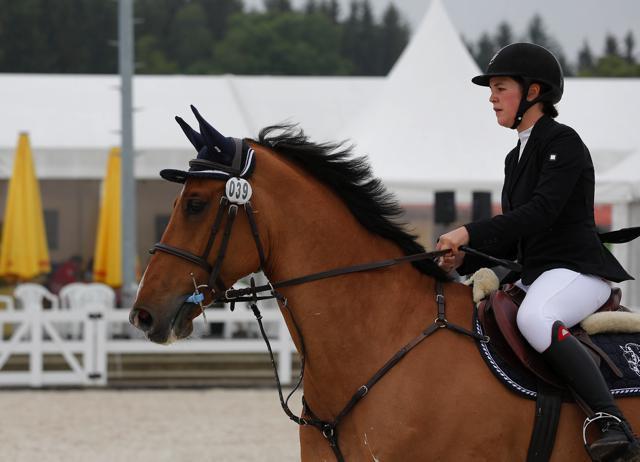 Anna Markel und Cascaro punkteten in Lamprechtshausen. © Fotoagentur Dill
