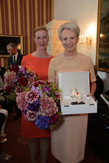 Ihre Königliche Hoheit Prinzessin Benedikte zu Dänemark, Prinzessin zu Sayn-Wittgenstein-Berleburg und ihre Tochter, Prinzessin Nathalie Sayn-Wittgenstein-Berleburg. © SRS