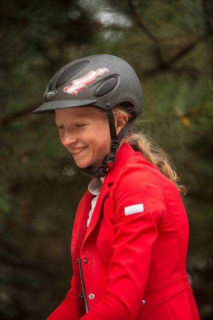 R34 Teamreiterin Marie Sebesta hatte 2015 bei der Heim EM in Wr. Neustadt allen Grund zum Strahlen gehabt. © Lukas Jahn