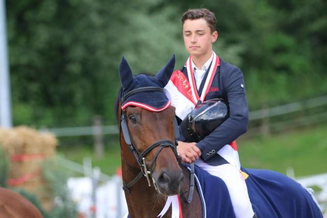 Ein 15-Jähriger schnappte sich den Sieg in der Allgemeinen Klasse - Dominik Juffinger! © RC Igls