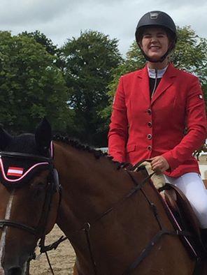 Erste EM und gleich Null: Anna Markel und Cascaro starten super in die Junioren EM. © facebook Brigitte Biber