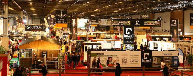The salon du cheval de paris takes a sporting turn for Salon du cheval a paris