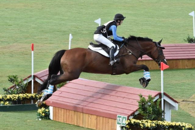 Pony Club Rider First To Experience Cross Country Course