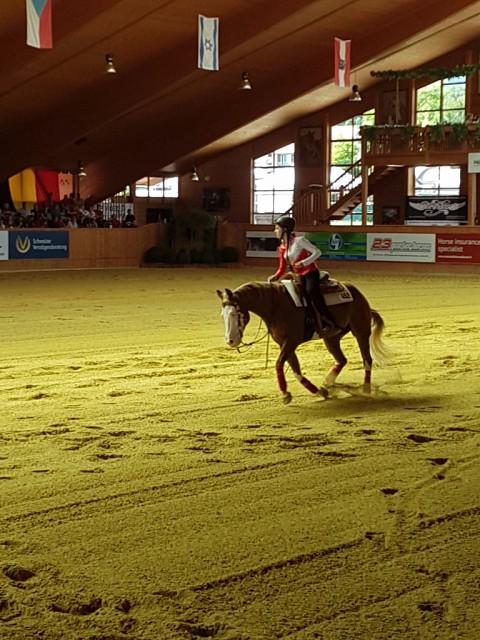 Fleiß zahlt sich eben aus: Celina Bachleitner hat im Finale noch einmal alles gegeben. © EQWO.net