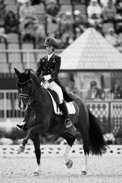 Charlotte Dujardin (GBR) verabschiedet Valegro morgen in London aus dem Sport. © FEI Photos