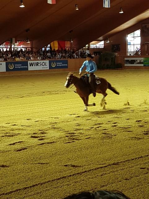 Die Silbermedaille geht nach Italien: Enrico Sciuli und Snips Gotta Bud. © EQWO.net