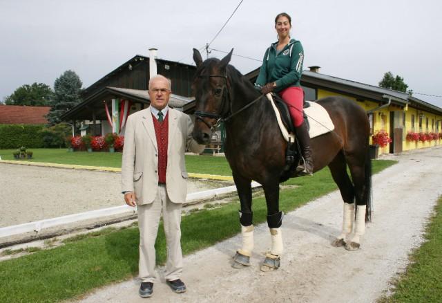 Ludwig Hoffmann feiert sein 40-jähriges Jubiläum als Dressurreferent in der Steiermark. © Christina Dow
