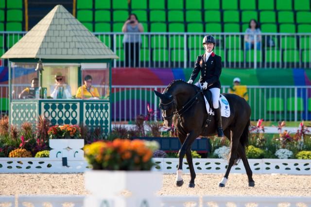77,522 % für Sophie Christiansen (GBR) und Athene Lindebjerg. © FEI photos