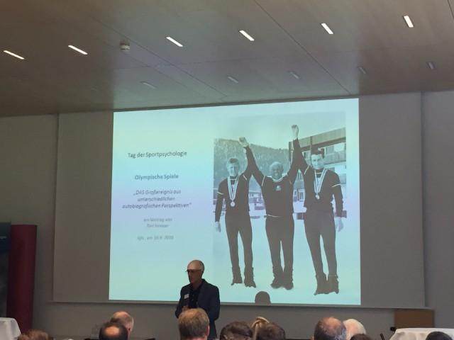 Toni Innauer erzählte von zahlreichen Olympischen Spielen als Athlet, Trainer und Sportdirektor. © EQWO.net