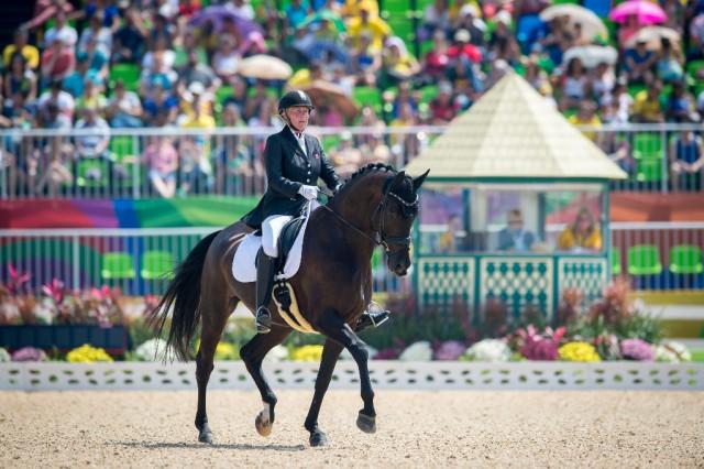 Die erste Goldmedaille ging an Ann Cathrin Lübbe (NOR) und Donatello. Jon Stroud /FEI photos