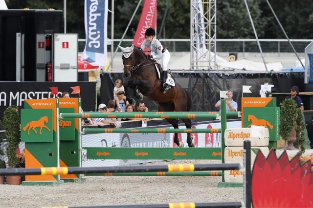 Athina Onassis (FRA) und Inca Boy vant Vianahof. © GCL / Stefano Grasso