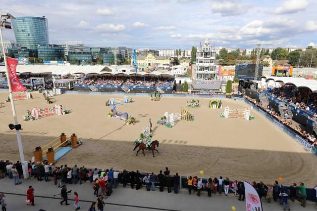 Eine ausverkaufte Arena in der Wiener Krieau. © GCL / Stefano Grasso