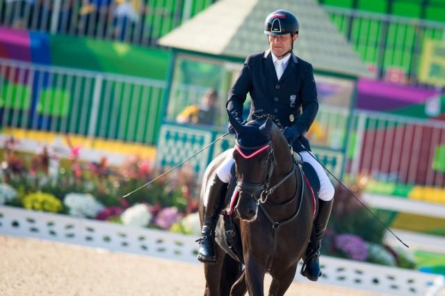 Pepo Puch und Fontainenoir sind in Rio auf Medaillenkurs. © Jon Stroud / FEI photos
