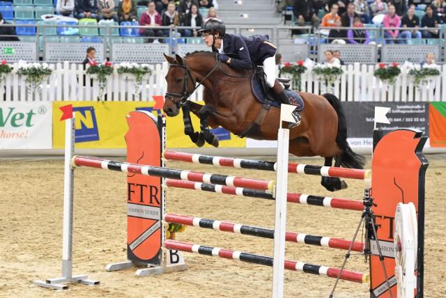 Shooting Star aus Polen Adam Grzegorzewski auf Okarino. © horsesportsphoto.eu