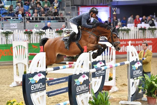 Markus Saurugg (ST) und Texas sind immer für eine Top Platzierung gut. © horsesportsphoto.eu