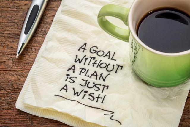 Nicht nur das Ziel, sondern auch der Plan der dorthin führt sollte spezifisch sein. ©Shutterstock / marekuliasz