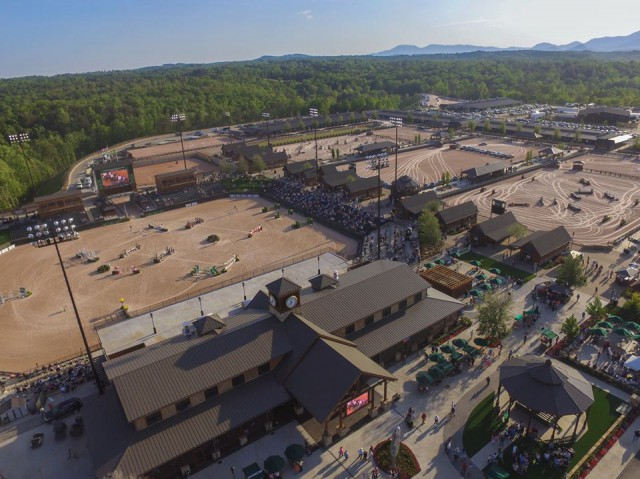 Tryon Usa To Host Fei World Equestrian Games 2018