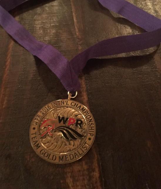 Das Objekt der Begierde: die Goldmedaille! © Facebook Para-Reining