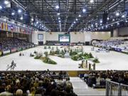 Das Bild zeigt die Palexpo in Genf, die grösste Indoor-Arena der Welt. © Kit Houghton
