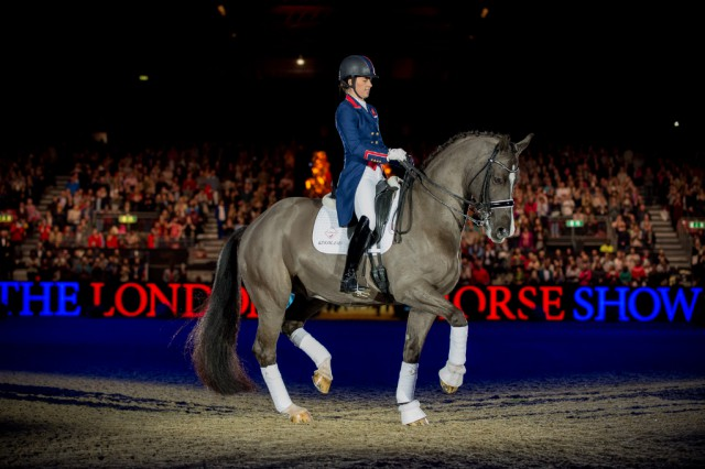 Pure Perfektion: Charlotte Dujardin und Valegro in London. © Jon Stroud