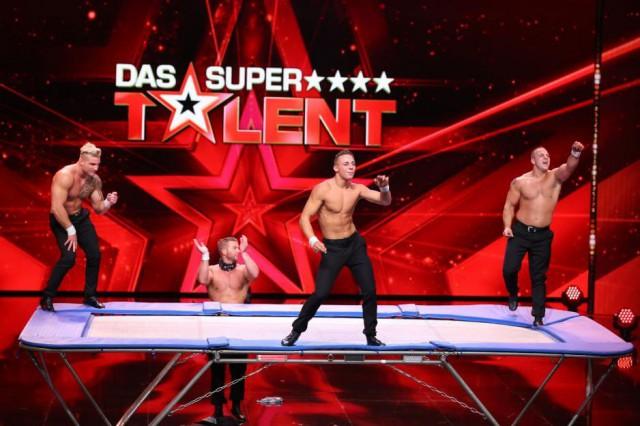 Sensations-Auftritt der Gebrüder Scholl in der Salzburgarena als Abschlusstraining vor dem RTL Supertalent Finale. © Gebrüder Scholl