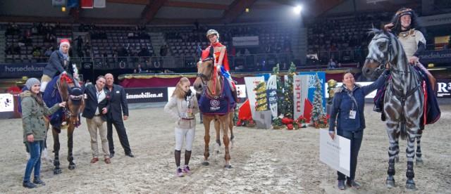 2,10 m überwanden die drei Sieger der heutigen Mevisto High Fly Tour presented by R34. © Salzburg City Guide