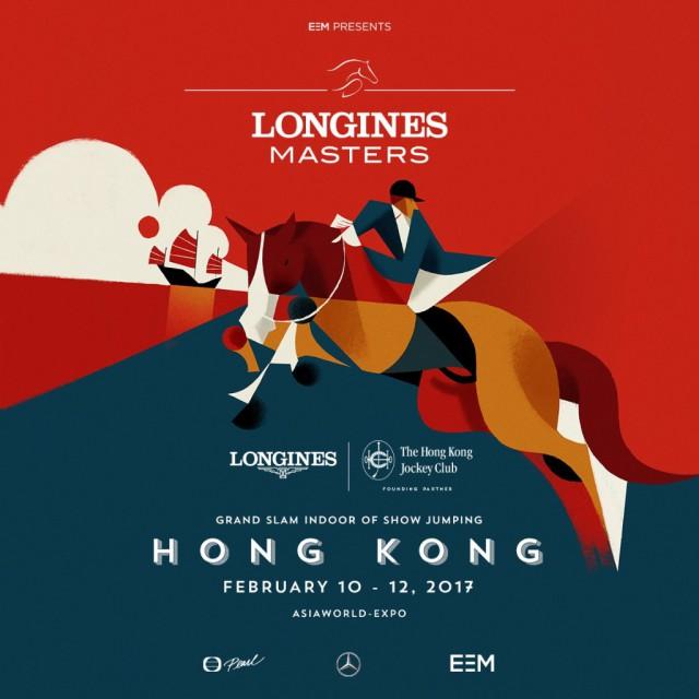 Das ofizielle Poster des Longines Masters Hongkong. © GHC Asia