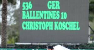 Christoph Koschel and Ballentines 10. © Susan J Stickle