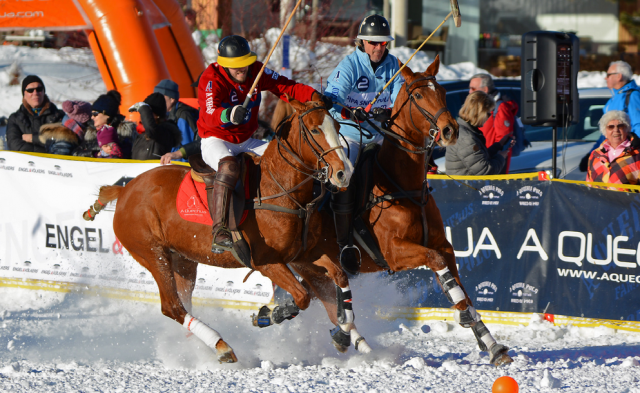 Seefeld in Tirol wird wieder zum Snow Polo Mekka! © PIPA / Andreas Stöckl