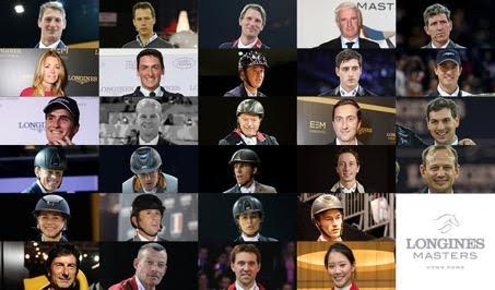 These are the riders of the grand final in Hong Kong. © Longines Masters