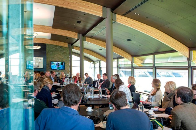 In Valkenswaard wurden Fragen der Journalisten beantwortet. © GCL