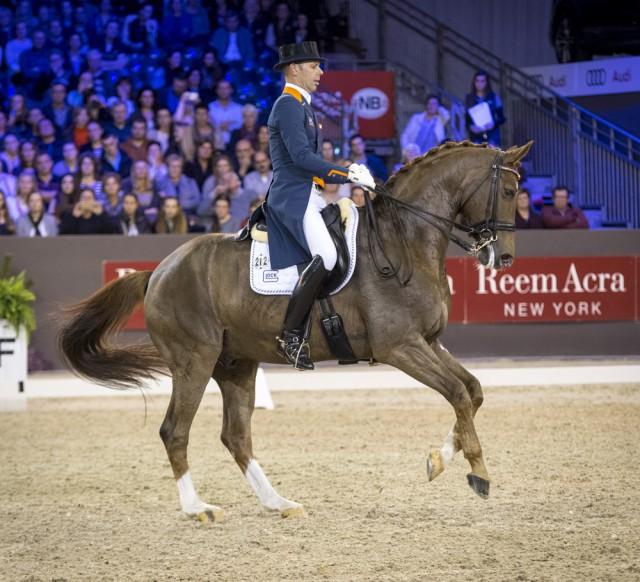 Das Dutch Masters - Indoor Brabant 2020 in s'Hertogenbosch findet mit minimierter Zuschauerzahl statt. Es dürfen nur jeweils 1000 Personen pro Programmpunkt anwesend sein. © Arnd Bronkhorst/FEI