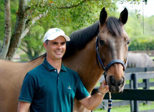 Der neue Senior High Performance Director des irischen Springreitteams Rodrigo Pessoa. © Horse Sport Ireland