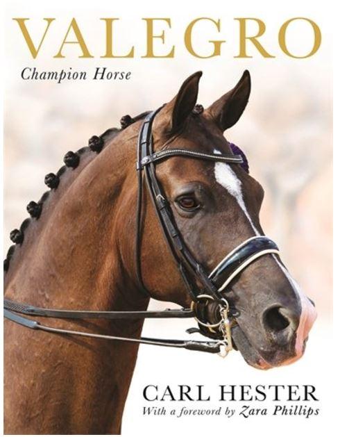 Carl Hester hat die Biografie von Valegro verfasst. Perfekt zum Weiterschenken oder selber Lesen. © Valegro Blueberry Limited